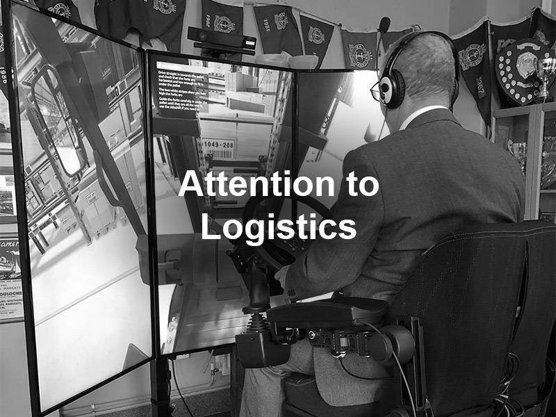 Attention to Logistics